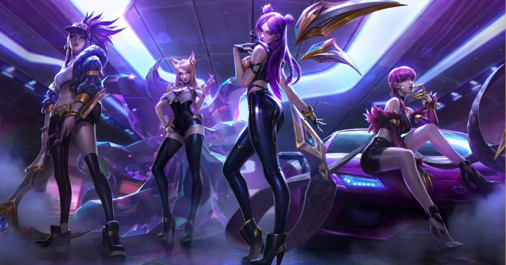 K/DA Legends Never Die from LoL