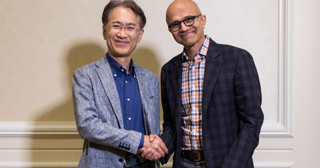 Microsoft and Sony's New Strategic Alliance: Azure + PS Store = Pure Awesomeness