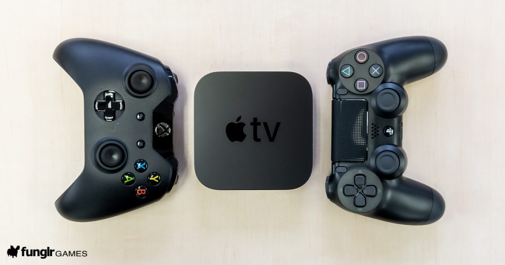 Apple TV Xbox One S PlayStation4
