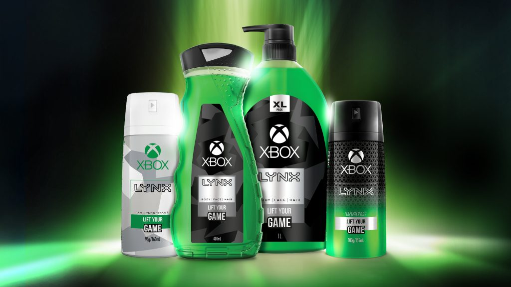 Xbox body care products & deodorant