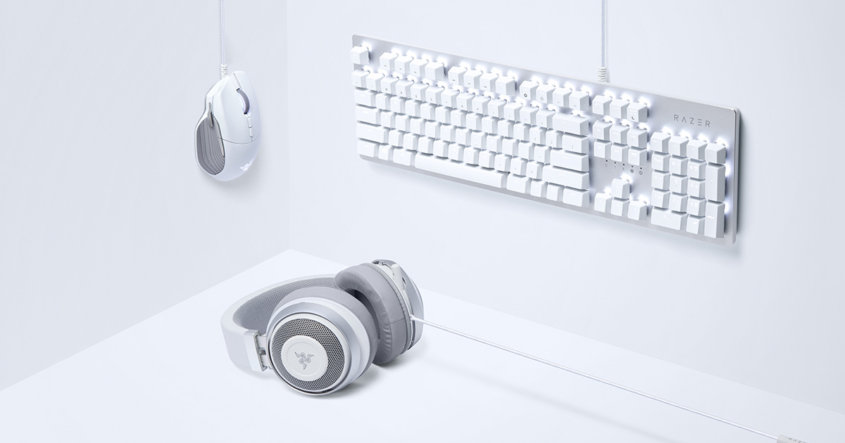 Razer Mercury White