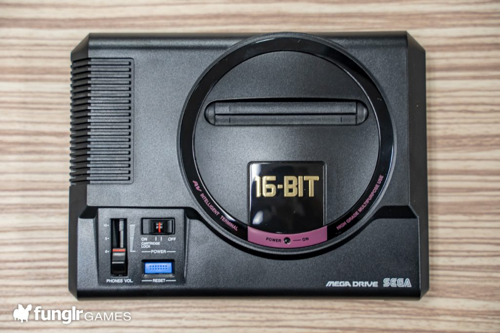 Mega Drive Mini Top View