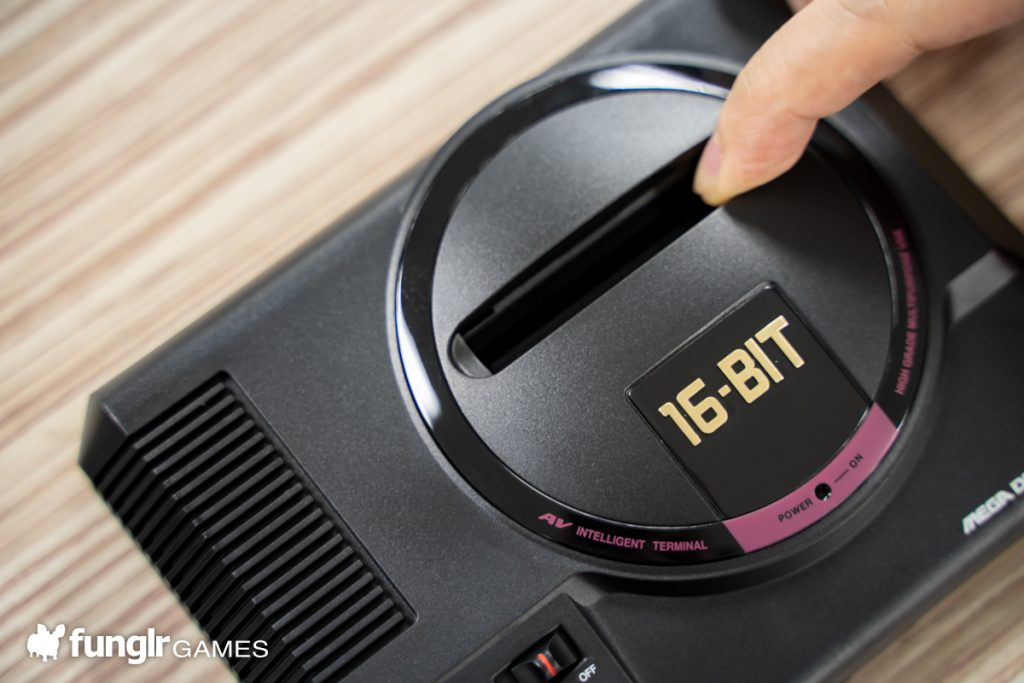 Mega Drive Mini Cartridge Slot