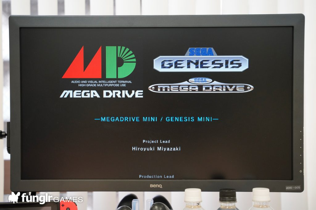 Mega Drive Mini Settings