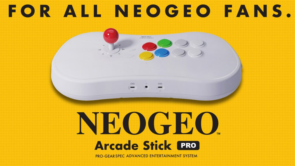 NEOGEO Arcade Stick Pro Updates Are Here!