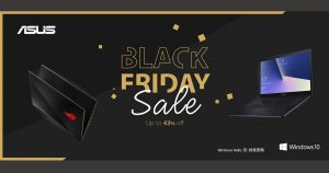 香港ASUS Black Friday感謝祭 電競 Notebook 最多平二千多!