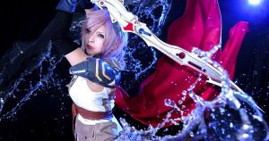 FINAL FANTASY XIII Lightning Cosplay Collection!