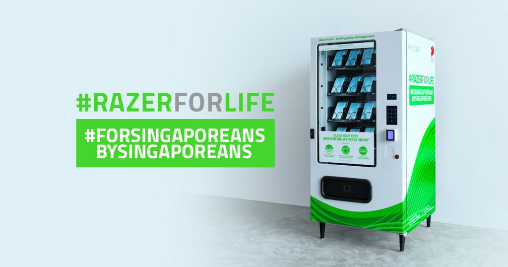 Razer provides free masks for Singapore #RazerForLife