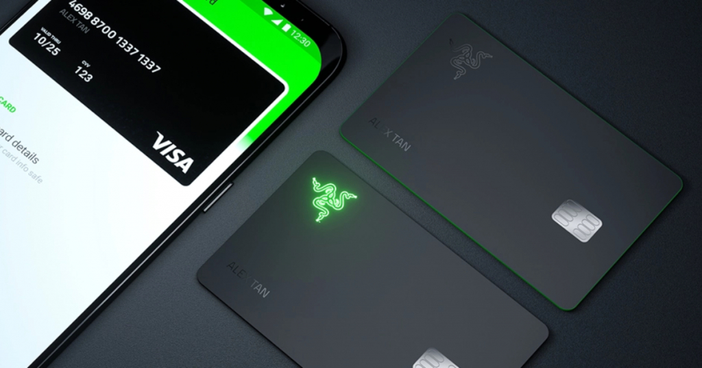 The first illuminated prepaid card – RazerCard