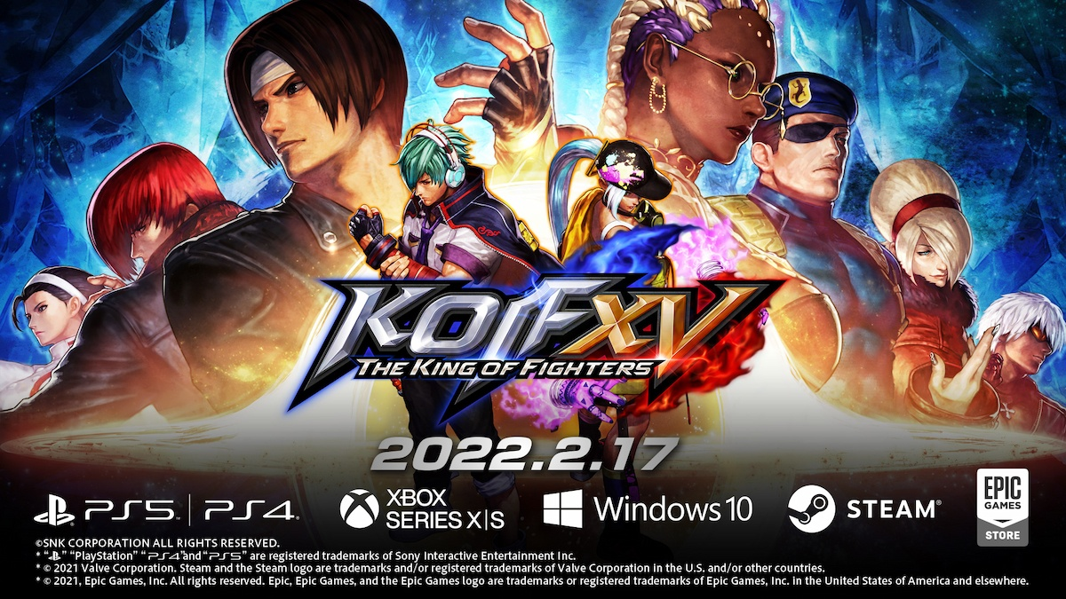 「THE KING OF FIGHTERS XV」の発売日が遂に決定!新情報が一気に解禁!